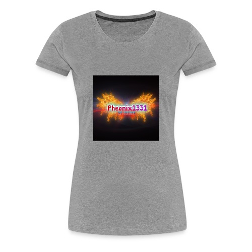 Flaming Pheonix YT - Women's Premium T-Shirt