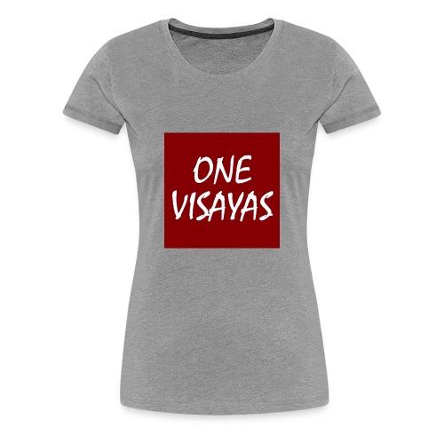 ONEVisayas Logo - Women's Premium T-Shirt