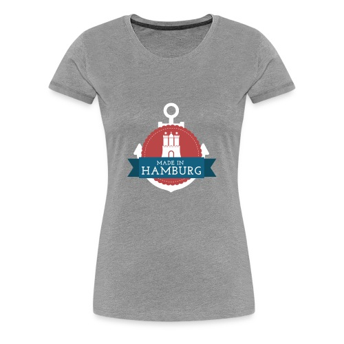 Made in Hamburg - invert - Frauen Premium T-Shirt