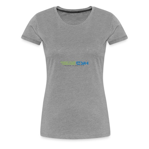 Cheat Your Hardware - Frauen Premium T-Shirt