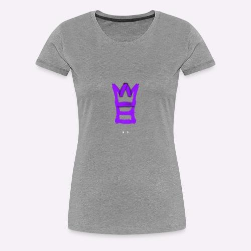 M8 mit Krone - Frauen Premium T-Shirt