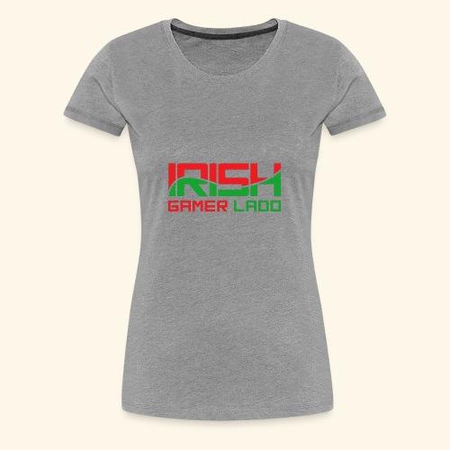 Irish Gamer Ladd - Women's Premium T-Shirt