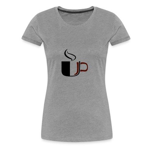JU Kahvikuppi logo - Naisten premium t-paita