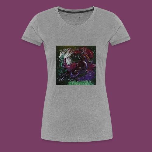 Fantasifugl - Dame premium T-shirt