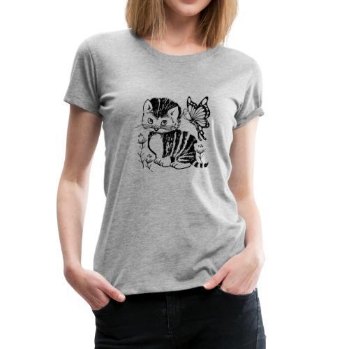 cat - Frauen Premium T-Shirt