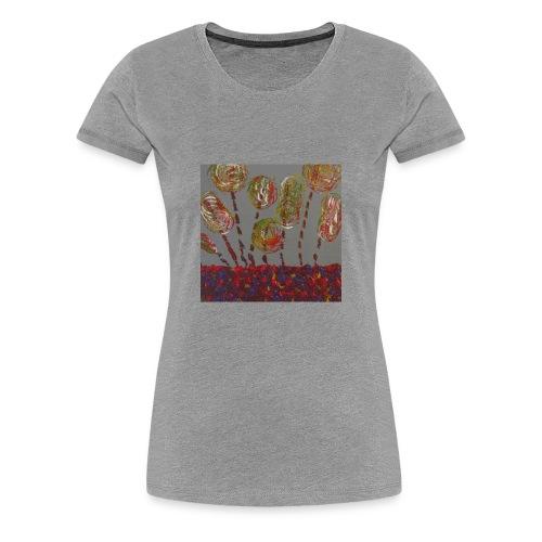 des fleurs - T-shirt Premium Femme