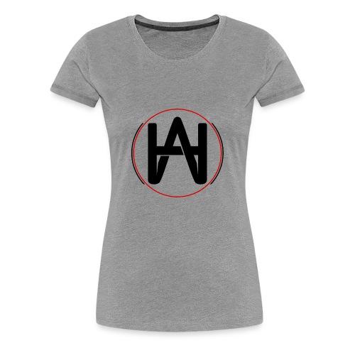 Logo Circulo rojo - Camiseta premium mujer