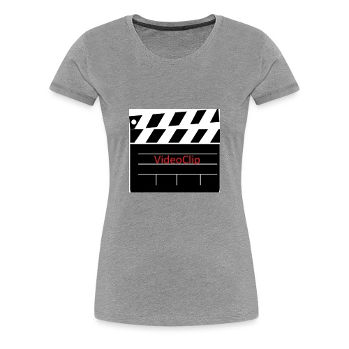 VideoClip - Vrouwen Premium T-shirt