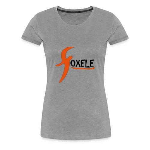 foxele orange - Women's Premium T-Shirt