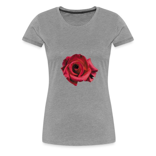 Röd Ros - Premium-T-shirt dam
