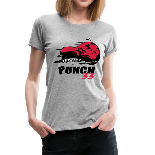 logo punch 33 - T-shirt Premium Femme
