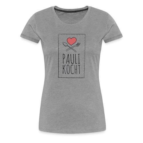 Logo Paulikocht - Frauen Premium T-Shirt