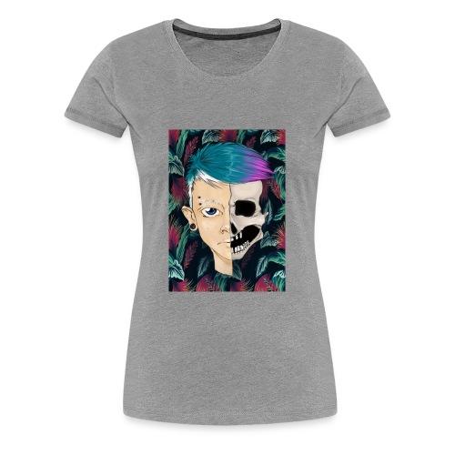 Skullboy - Premium T-skjorte for kvinner