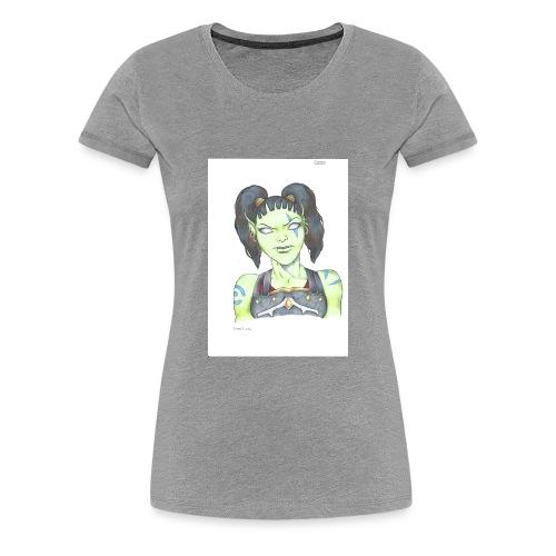 Garona - Premium-T-shirt dam