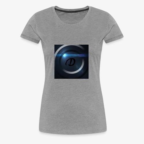 DeutschHD Logo - Frauen Premium T-Shirt