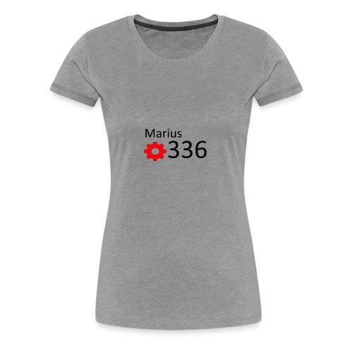 Marius youtube design - Frauen Premium T-Shirt