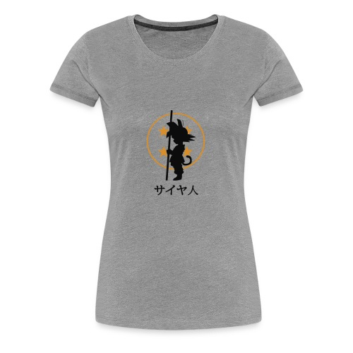 Dragon ball goku pequeño - Camiseta premium mujer
