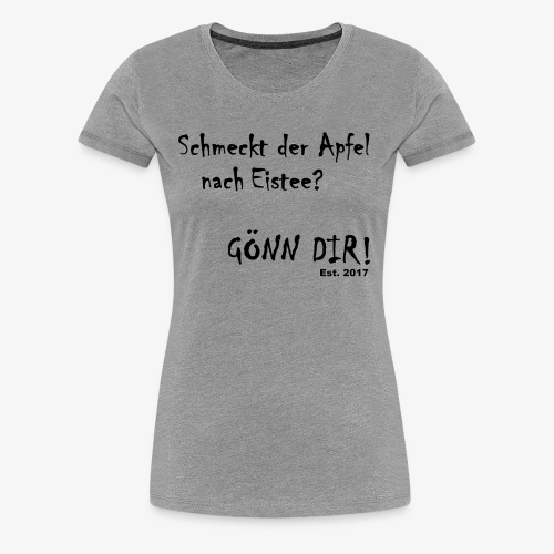 Eistee - Frauen Premium T-Shirt