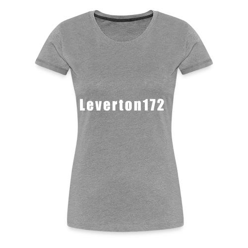Plain white - Women's Premium T-Shirt