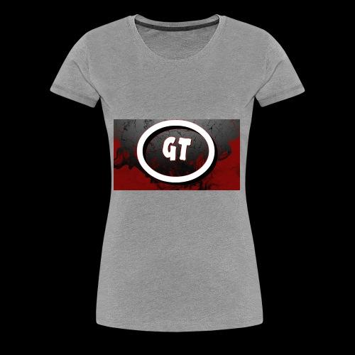 New youtube logo - Women's Premium T-Shirt