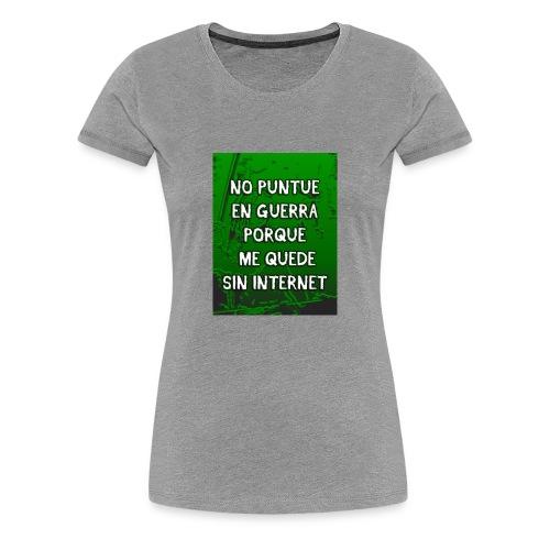 GUERRA - Camiseta premium mujer