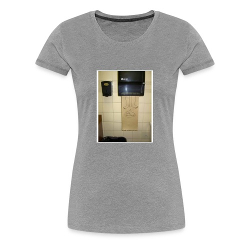 Stuck in the paperholder - Premium-T-shirt dam