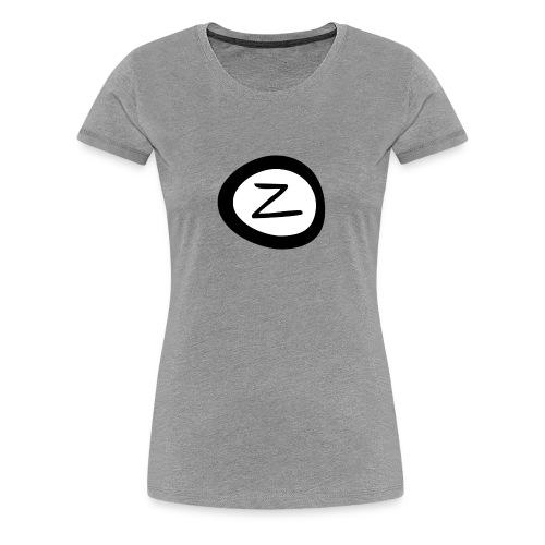 Zockenda's Logo - Frauen Premium T-Shirt