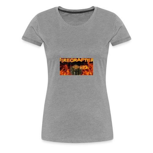 Firecrafterxhd merch - Frauen Premium T-Shirt