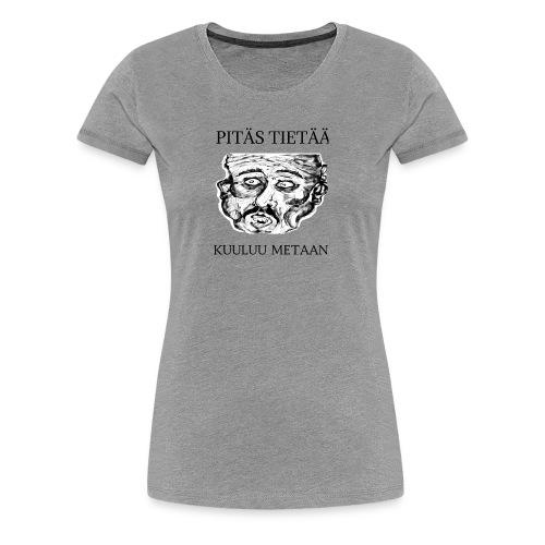Meta: orgrinRT (on a light background) - Women's Premium T-Shirt