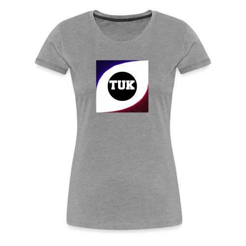 new stream and youtube logo - Women's Premium T-Shirt