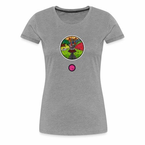 Le château oublié - T-shirt Premium Femme