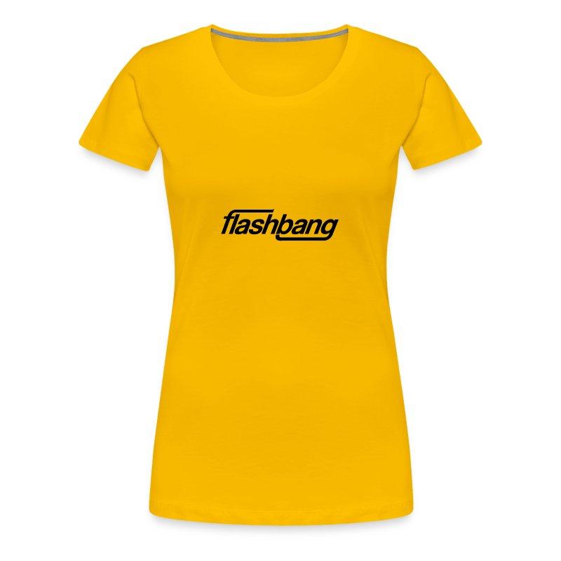 FlashBang Enkel - 50kr Donation - Premium-T-shirt dam