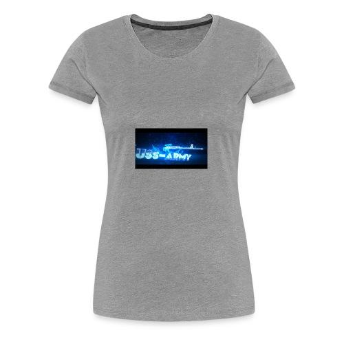USS-ARMY - Frauen Premium T-Shirt