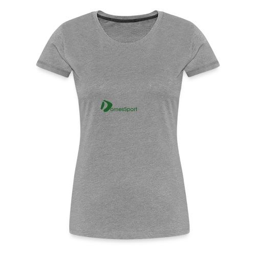 Logo DomesSport Green noBg - Frauen Premium T-Shirt