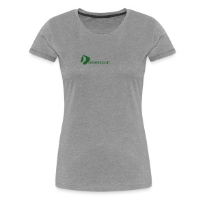 Logo DomesSport Green noBg - Frauen Premium T-Shirt