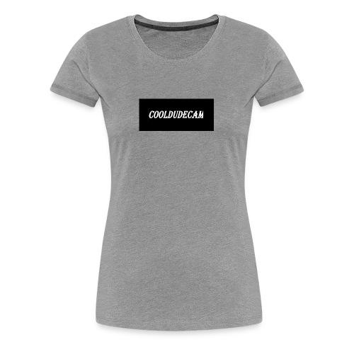 my cooldudecam murch - Women's Premium T-Shirt