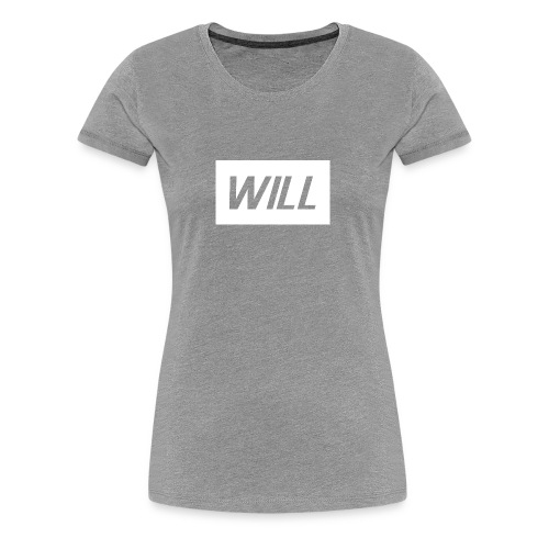 Official Will Clothing - Women's Premium T-Shirt