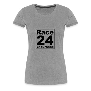 Race24 logo in black - Women's Premium T-Shirt