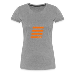 Orange Bars - Frauen Premium T-Shirt