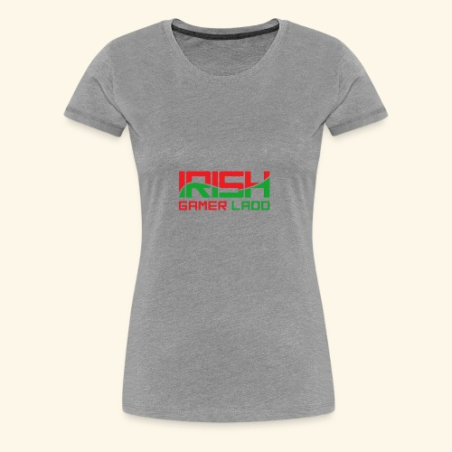 Irish Gamer Ladd - Women's Premium T-Shirt