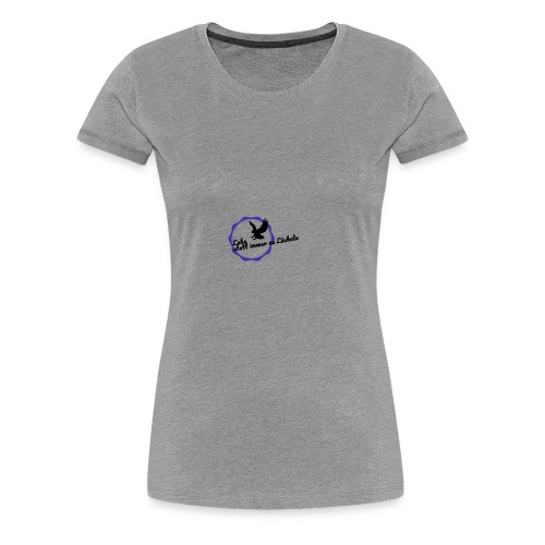 Lebe statt immer zu Lächeln - Frauen Premium T-Shirt