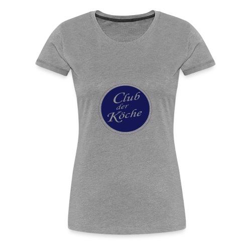 Club der Köche - Frauen Premium T-Shirt
