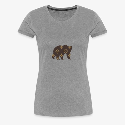 alouci x lv - Premium-T-shirt dam