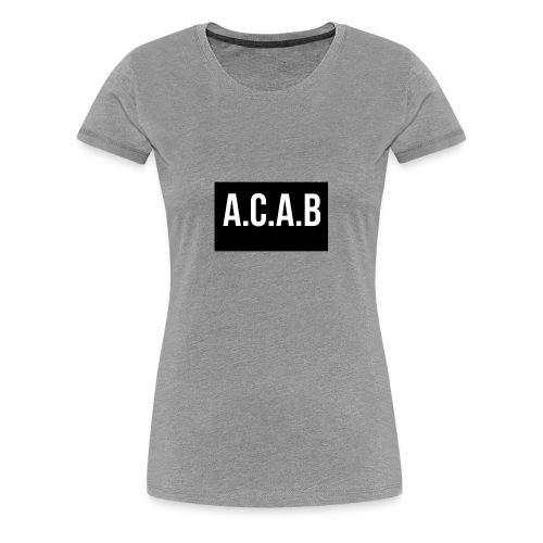 ACAB - Premium-T-shirt dam