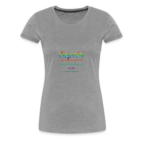 Olejor94 sover snorken - Premium T-skjorte for kvinner