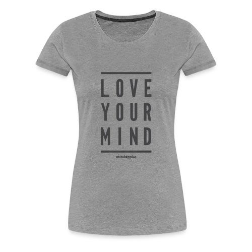 Mindapples Love your mind merchandise - Women's Premium T-Shirt