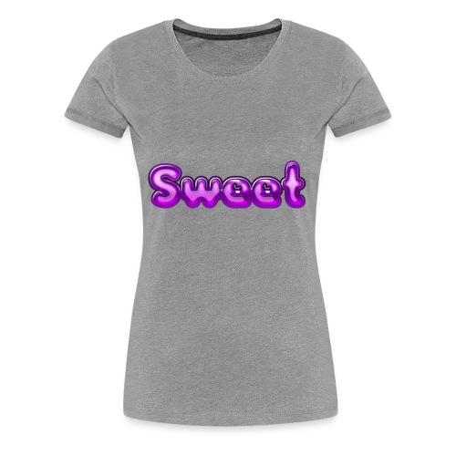 Sweet süß niedlich Geschenk Geschenkidee Herz - Frauen Premium T-Shirt