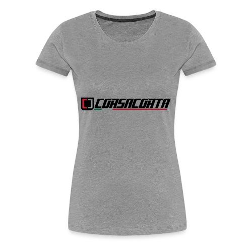 Corsacorta orizzontale - Maglietta Premium da donna