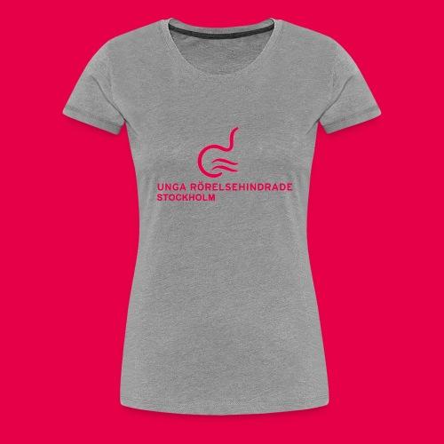 UngaRHsthlmLogga - Premium-T-shirt dam