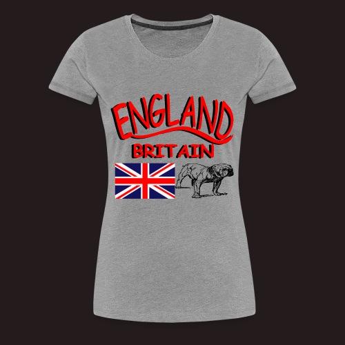 England - Frauen Premium T-Shirt